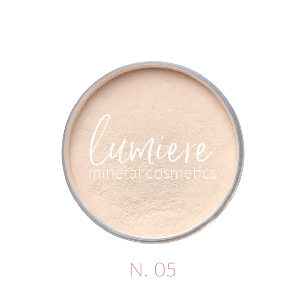 N .05 Neutral Loose Mineral Foundation