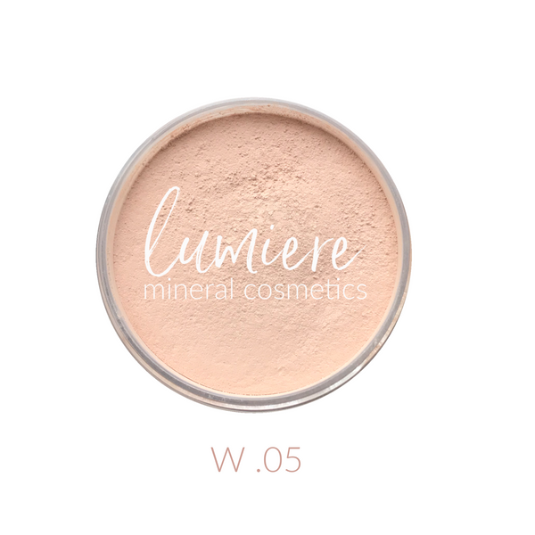 W .05 Loose Mineral Foundation