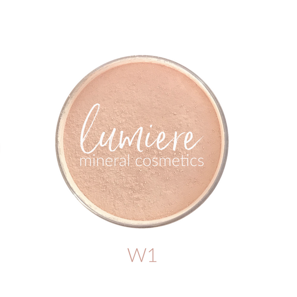 W1 Loose Mineral Foundation