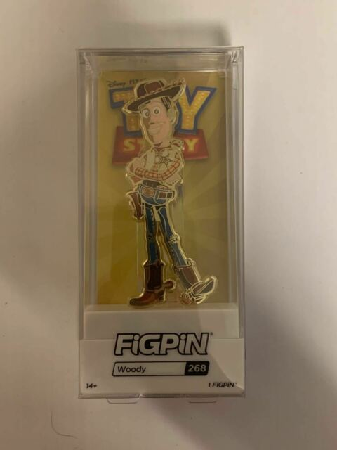 Toy Story 4 Gold Woody FiGPiN