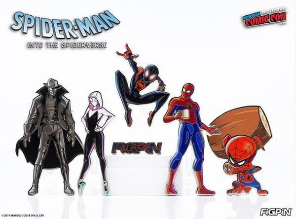Into the Spider Verse set