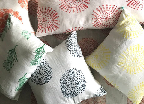 Contemporary Block-Printed Textiles from Tulusa