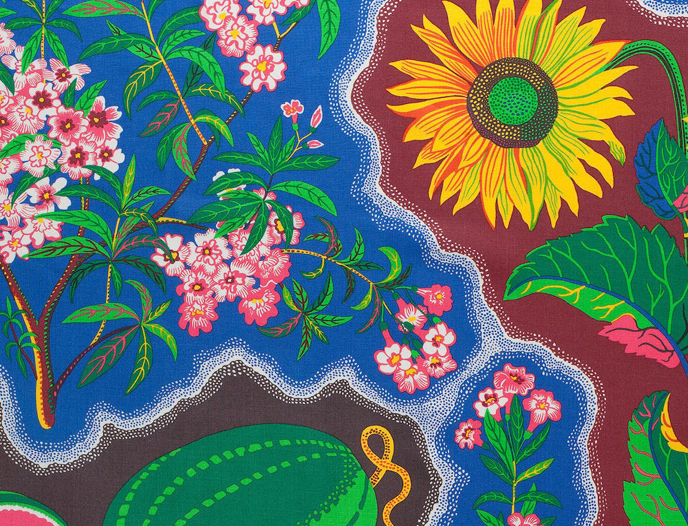 London Exhibit Pays Homage to Josef Frank's Swedish Textiles & Furnishings