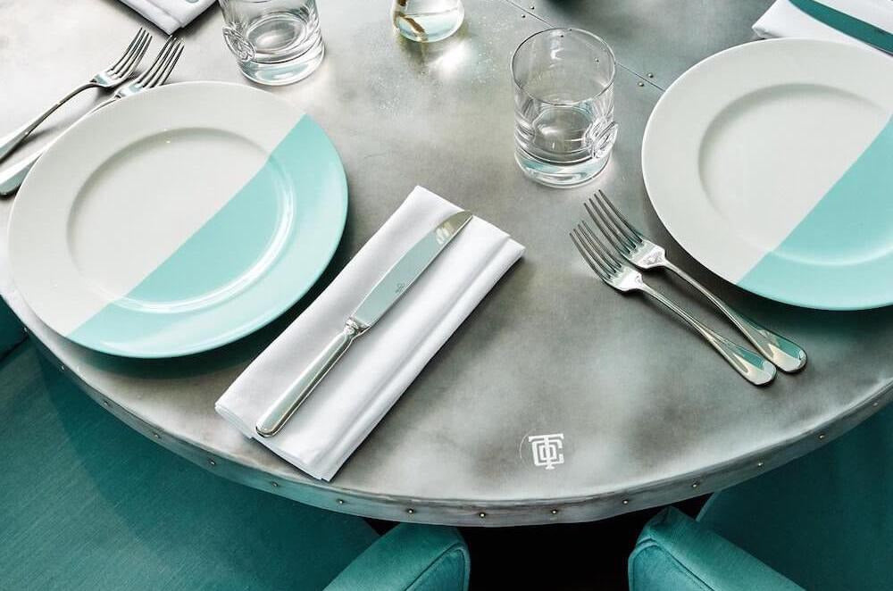 Tiffany & Co. Opens Blue Box Café in Manhattan