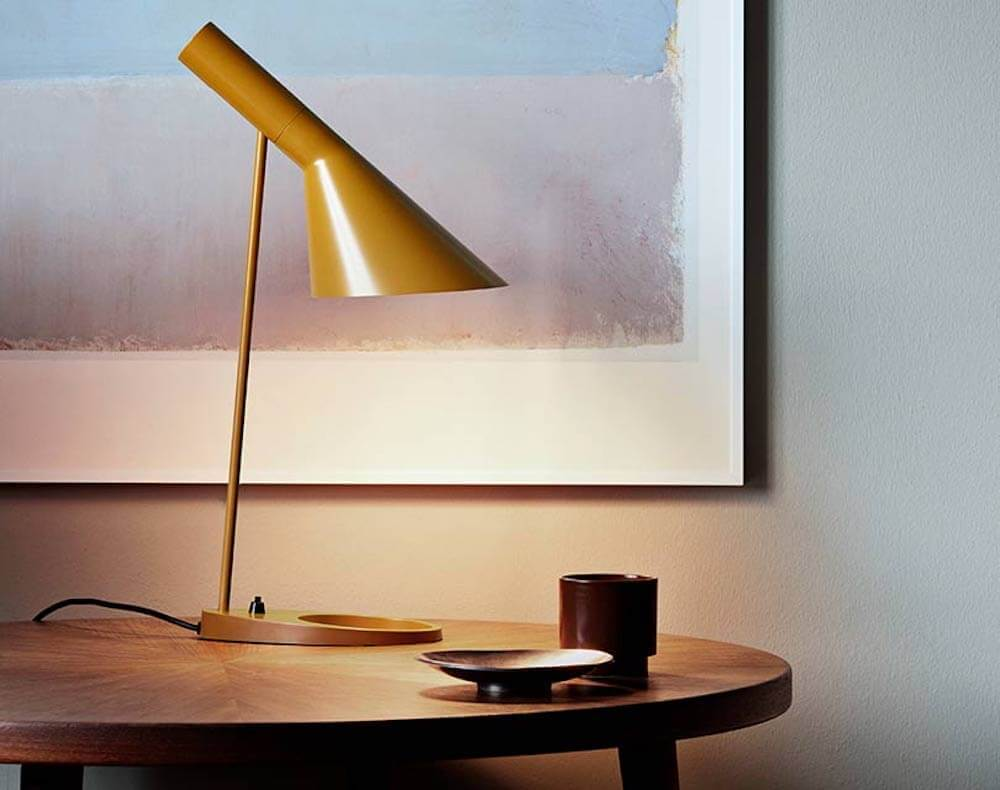 Louis poulsen releases new colorways for aj lamp series