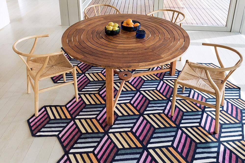 Garden Layers & Parquet Collections from GAN Rugs