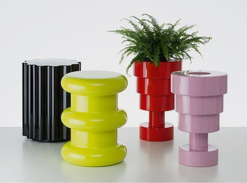 Colorful Furniture & Decor from Kartell Sottsass Collection