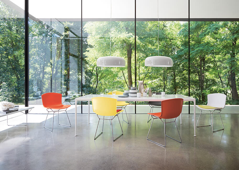 Knoll Reprises Bertoia Molded Shell Collection