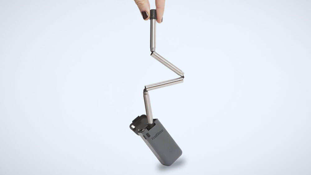 FinalStraw, A Collapsible, Reusable Drinking Straw