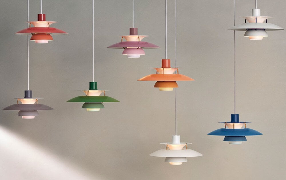 Louis Poulsen Releases 60th Anniversary Colors for PH 5 Pendant Lamp