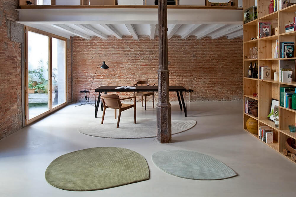 Nanimarquina Quill Rugs by Nao Tamura