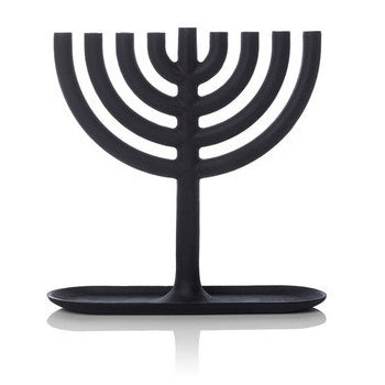 Areaware Modern Menorah Cast in Iron