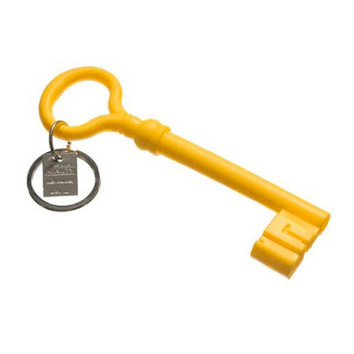 Areaware Key Keychain in Yellow