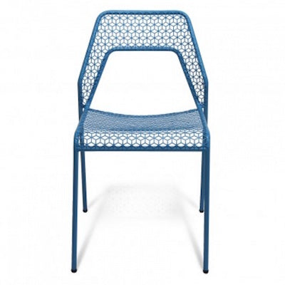 Blu Dot Hot Mesh Chair Blue