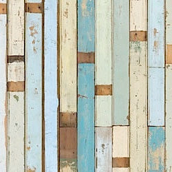 Imperfectly New: Scrapwood Wallpaper by Piet Hein Eek