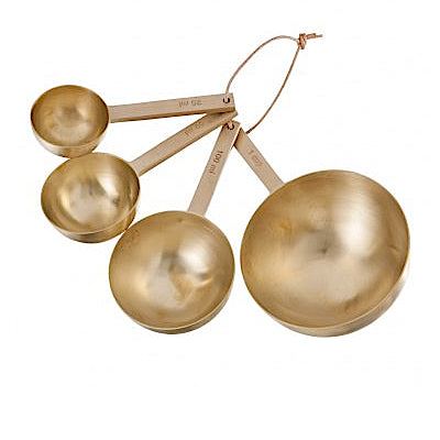Ferm Living Measuring Spoons in Brass