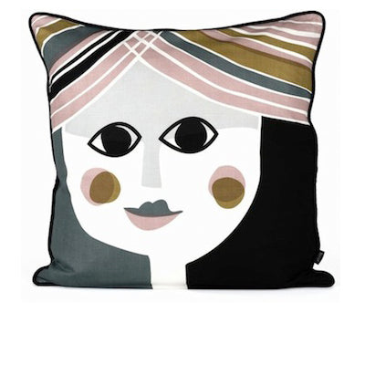 Ferm Living silk Mrs. Cushion