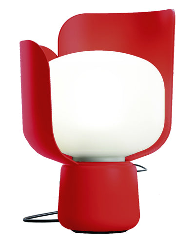 FontanaArte Blom Table Lamp in Red