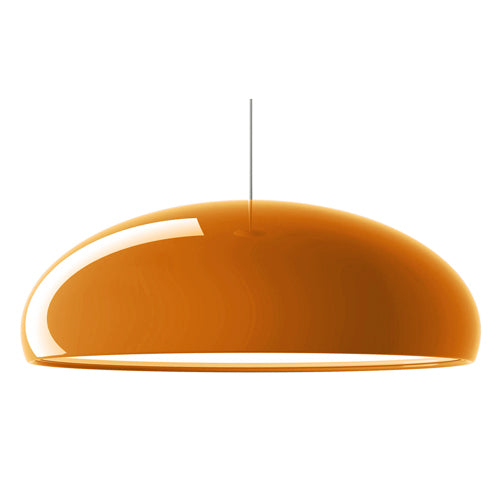 FontanaArte Pangen Suspension Lamp in Orange