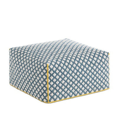 Gandia Blasco Silai Big Pouf in Blue
