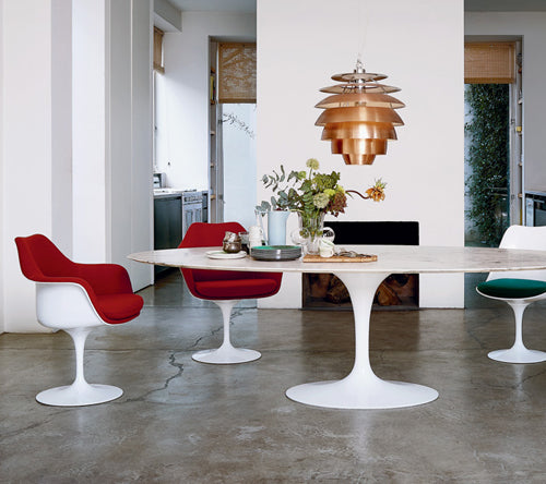 Knoll Annual Sale on 2Modern, Saarinen Dining Table and Tulip Chairs