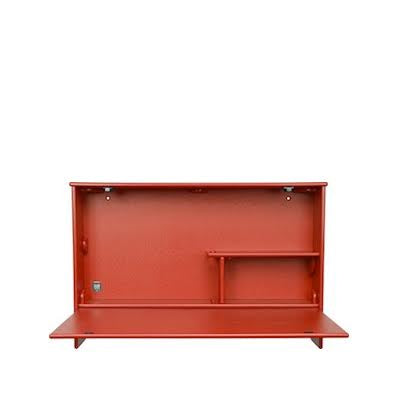 Loll Wallbanger Cabinet in Red