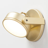 Monocle Wall Sconce by Rich Brilliant Willing