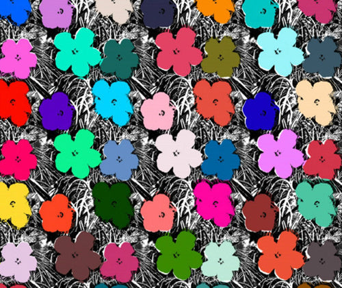 Small Flowers Wallpaper, designed by Flavor Paper.