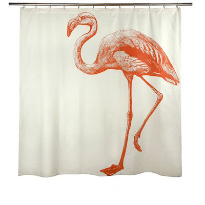 Flamingo Shower Curtain by Thomaspaul