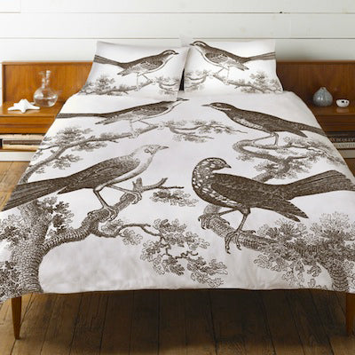 Ornithologoy Duvet Cover by Thomaspaul