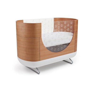 modern baby nursery furniture. Ubaabub Pod Crib In Wood And Plastic Modern Baby Nursery Furniture E