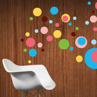 Dottilicious Wall Decal by WallCandy Arts