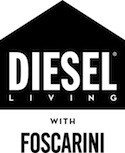 Diesel Living with Foscarini logo