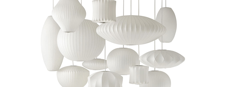 Herman Miller George Nelson Bubble Lamps Collection
