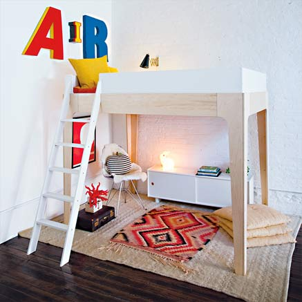 Modern Kids Bunk Beds by Oeuf