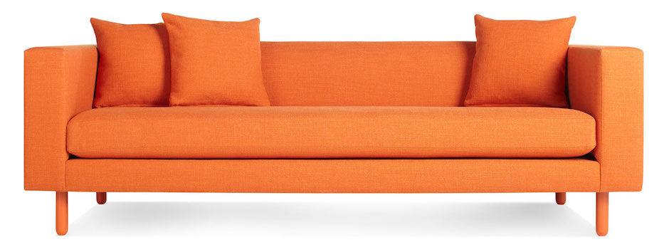Modern Orange trend featuring lively orange seating