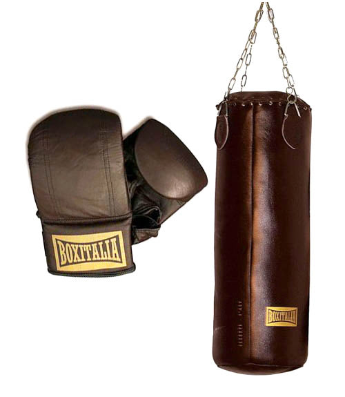 Seletti Boxitalia Boxing Gloves and Boxing Bag