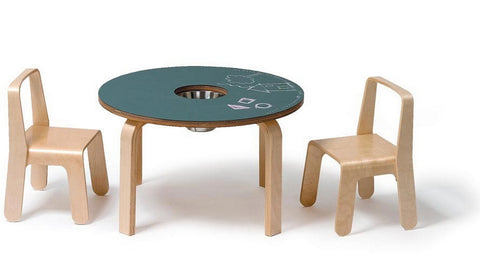 Woody Chalkboard Table for Kids