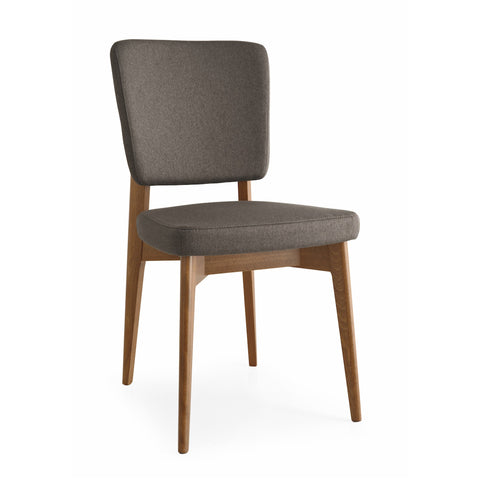 Escudo Upholstered Wooden Chair