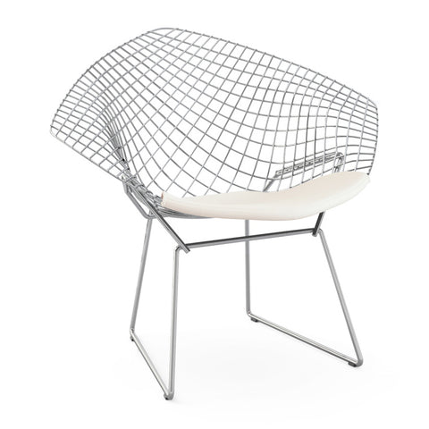 Bertoia Diamond Chair with Seat Cushion