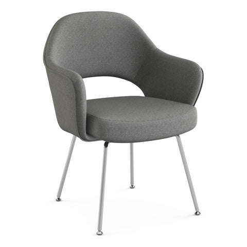Saarinen Executive Arm Chair with Tubular Legs