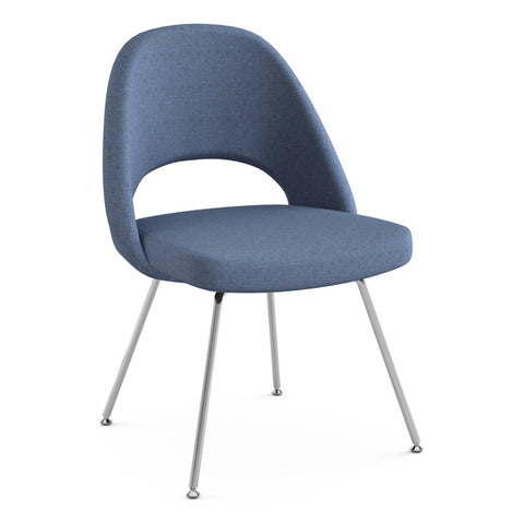 Saarinen Executive Armless Chair with Tubular Legs