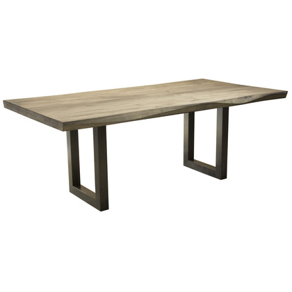 Saloom Furniture Emerson Dining Table Sculpted Edge 2modern