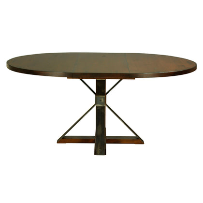 Saloom Furniture Cambridge Round Extendable Dining Table 2modern