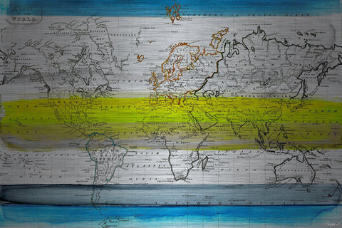 Global Greeners Aluminum Wall Art