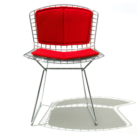 Bertoia Side Chair with Seat and Back Cushion
