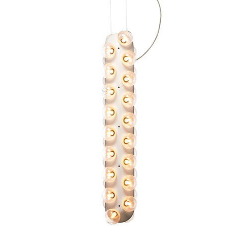 Prop Light Double Vertical Pendant Light