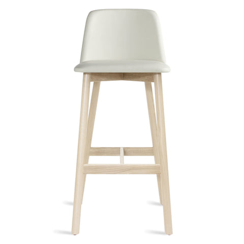 Chip Leather Barstool