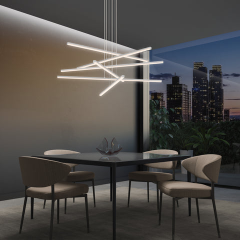 Stix LED Arm Pendant