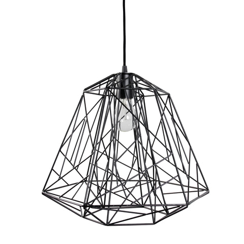 Wright Stuff Forged Iron Pendant Light